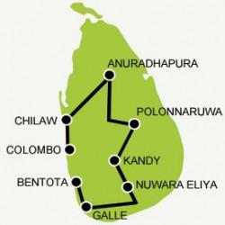 A tour for the culture buff tour map
