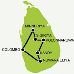 express-tour-sri-lanka map