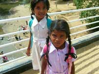 Little girls in Sri Lanka