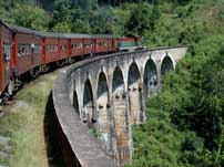 Train excursions in Sri Lanka