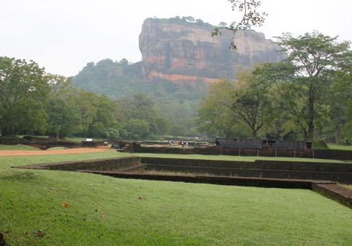 Lion Rock Sigiriya in Sri Lanka