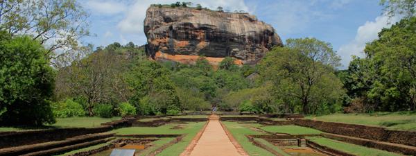 Sigiriya, the Sri Lankan Lion Rock