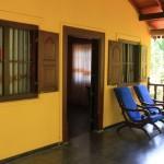 Outsida Villa Araliya